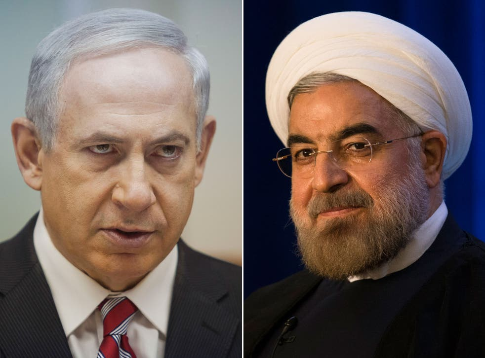 Israeli prime minister Benjamin Netanyahu, left, will try to foil Iran's moves towards rehabilitation in the international community during a speech at the UN General Assembly aimed at reversing the diplomatic and public opinion gains made by the new Iran
