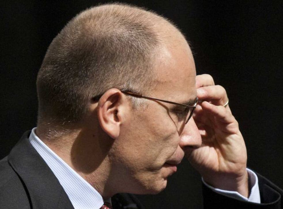 Italian Prime Minister Enrico Letta faces a confidence vote on Wednesday after ministers from Silvio Berlusconi's party stepped down at the weekend