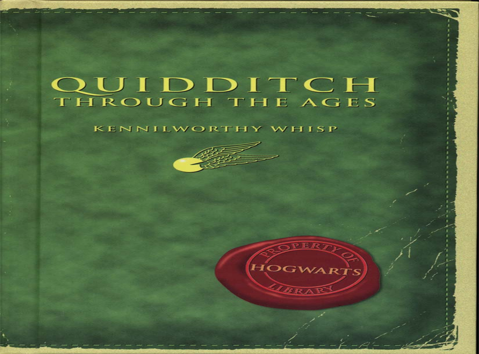 JK Rowling's Quidditch Through the Ages
