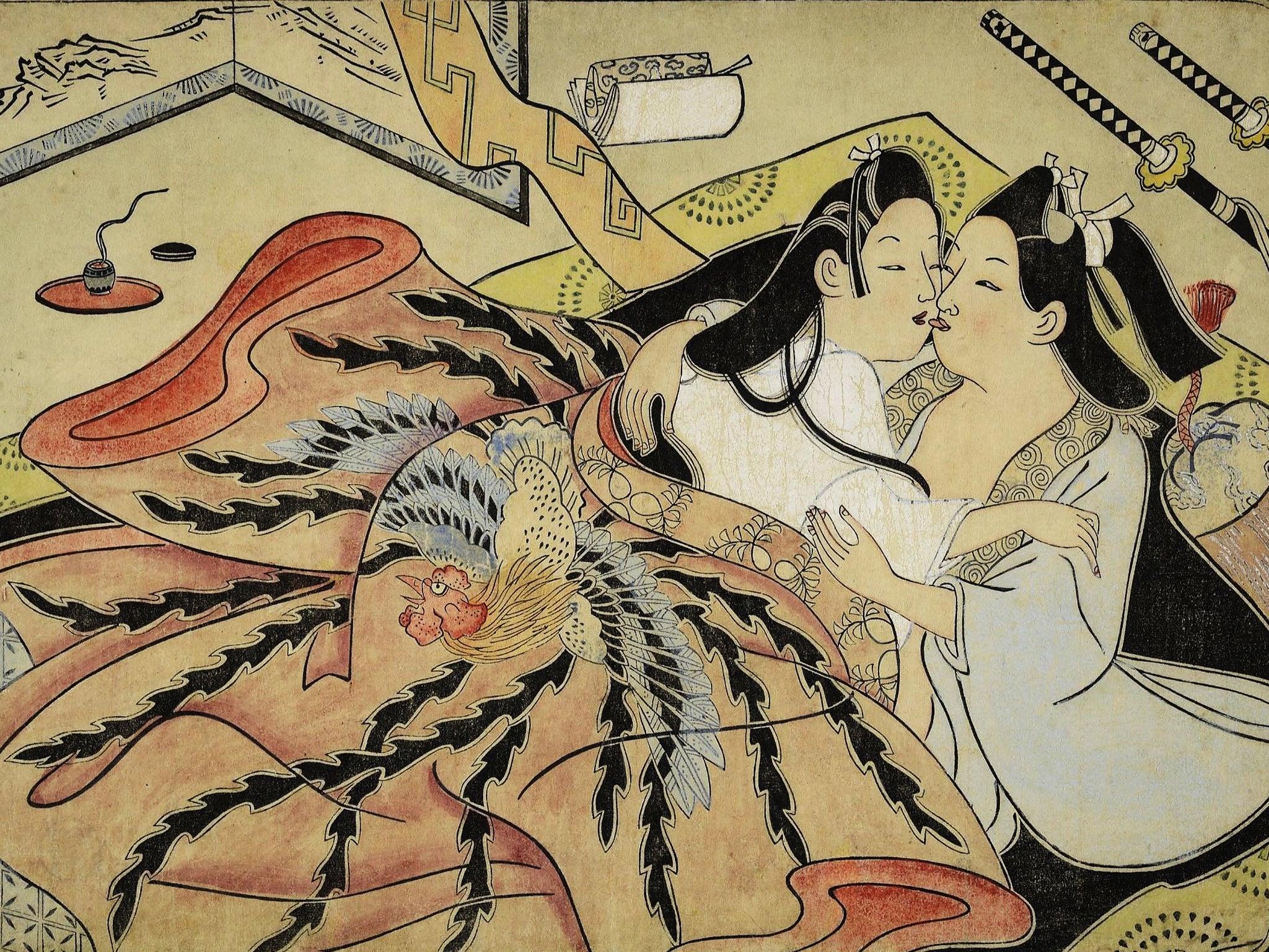 вздыхает, обреченно японские средневековые порно рисунки посуди, как