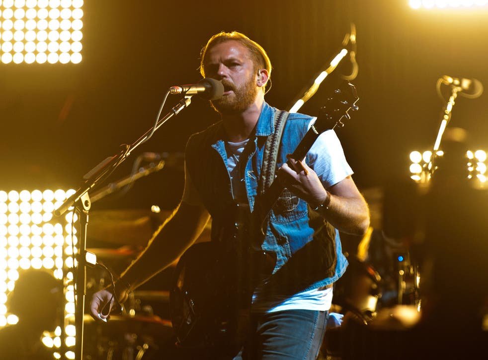 Kings of Leon have secured another number one album
