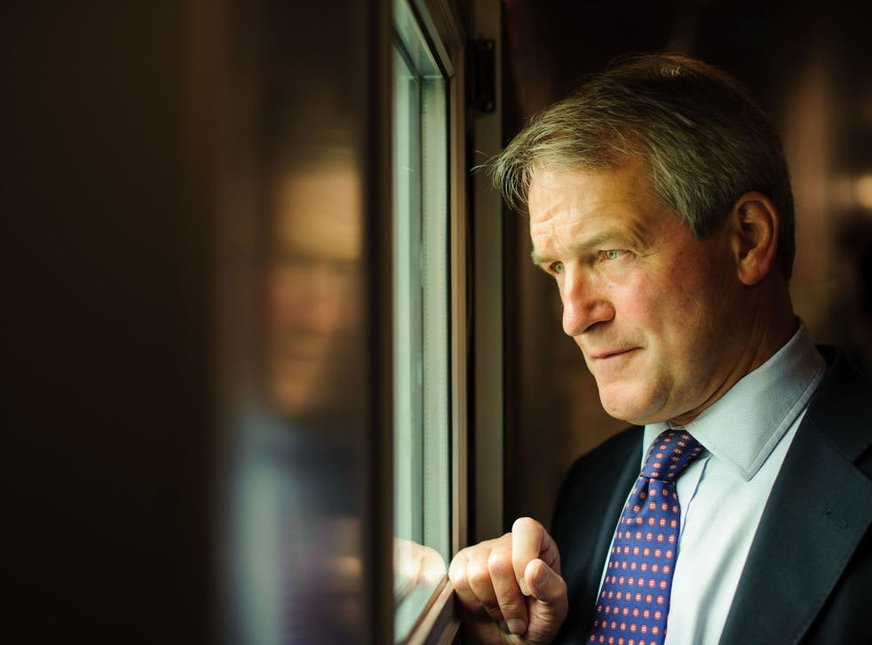 Owen Paterson has been accused of being irresponsible after playing down the dangers of global warming