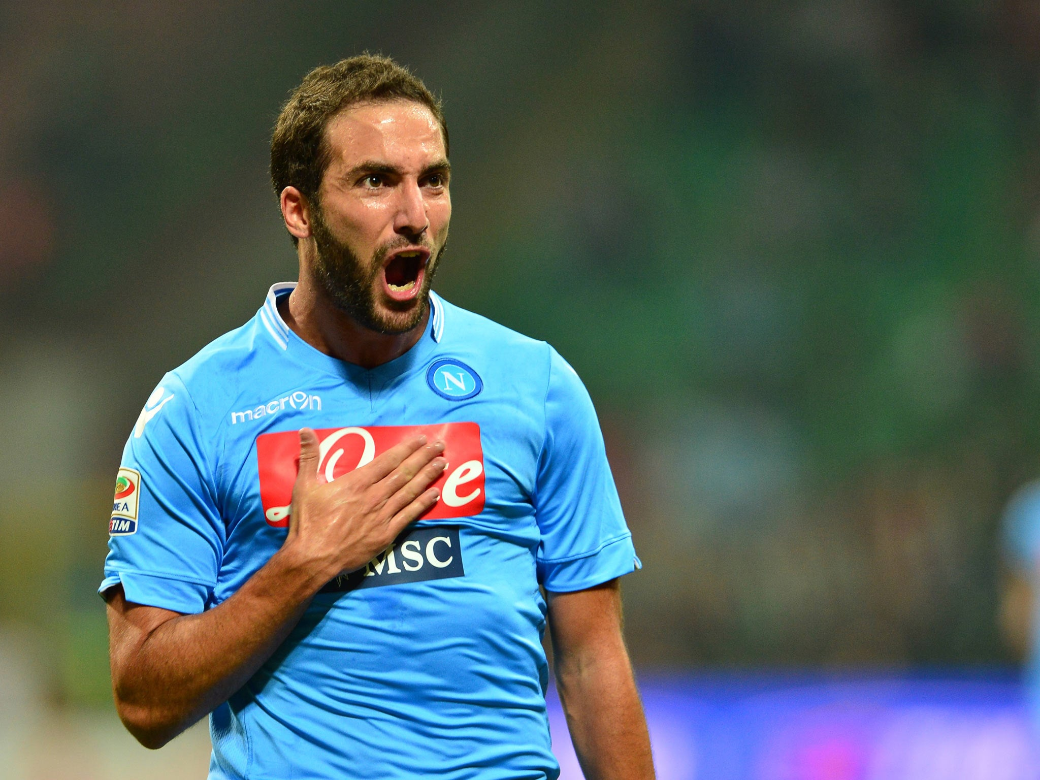 Napoli V Arsenal Champions League We Missed Out On Gonzalo