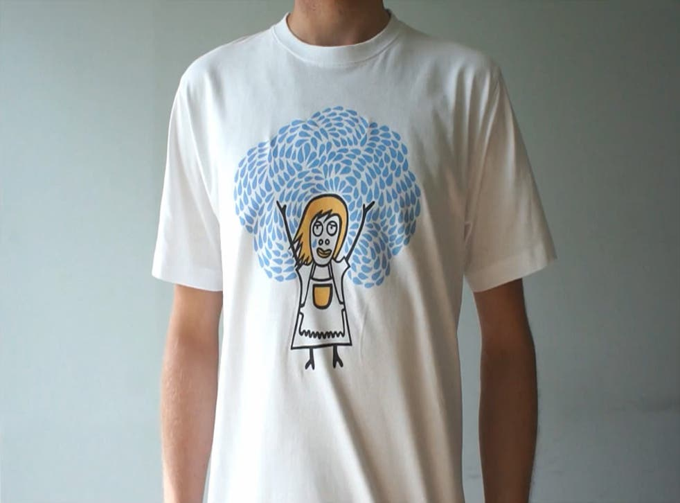 The world's first 'self-cleaning' t-shirt, apparently