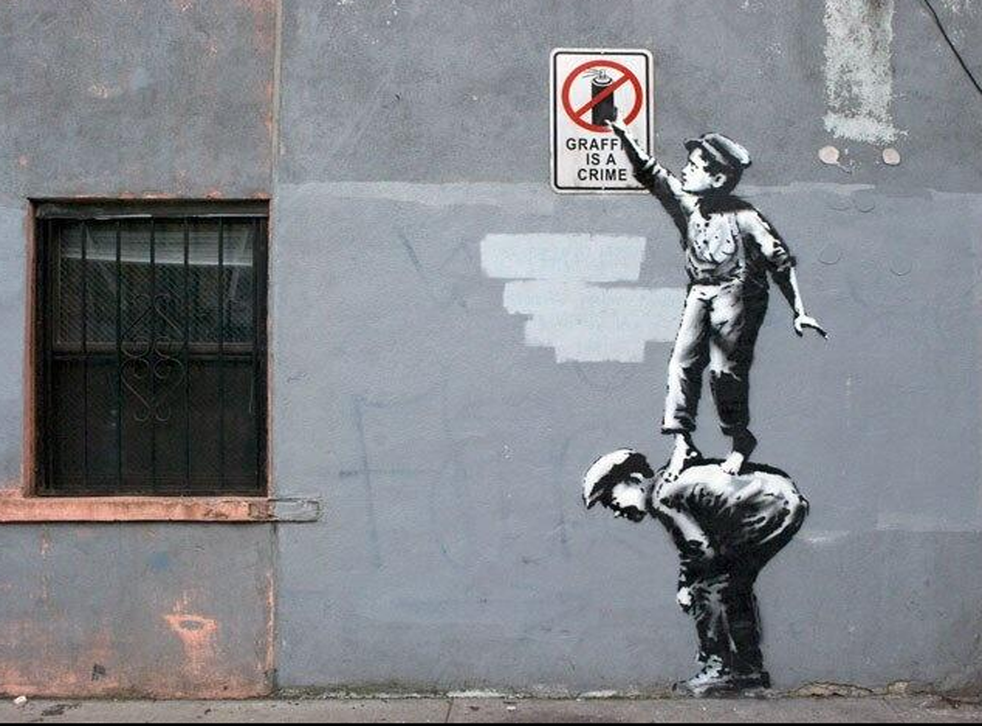Banksy's 'The street is in play' appears in New York City