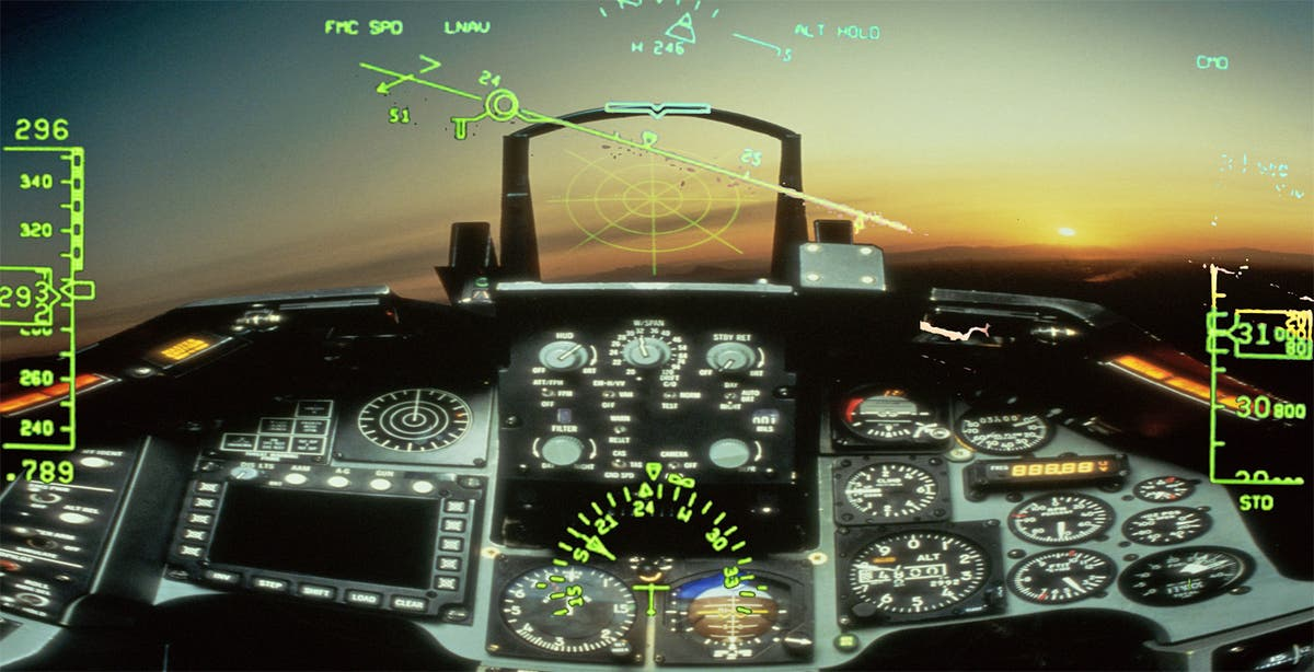 From fighter jets to Google Glass: Head-up displays make ...