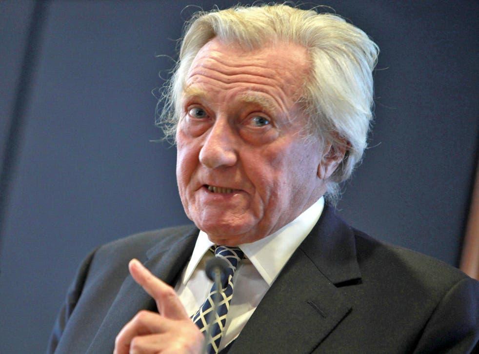 Former Deputy Prime Minister, Lord Heseltine