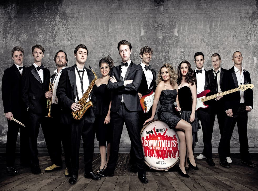 Back in the groove: the cast of 'The Commitments'