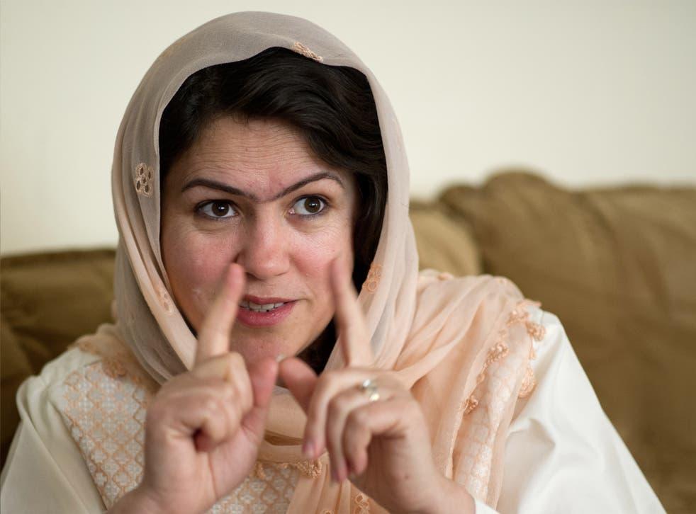 Fawzia Koofi: 'I represent a transformed Afghanistan'
