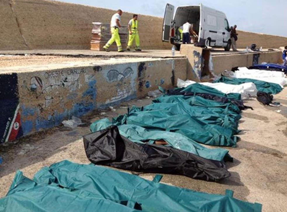 At least 62 bodies have been recovered off the Italian coast after a ship carrying migrants sank near the southern island of Lampedusa.
