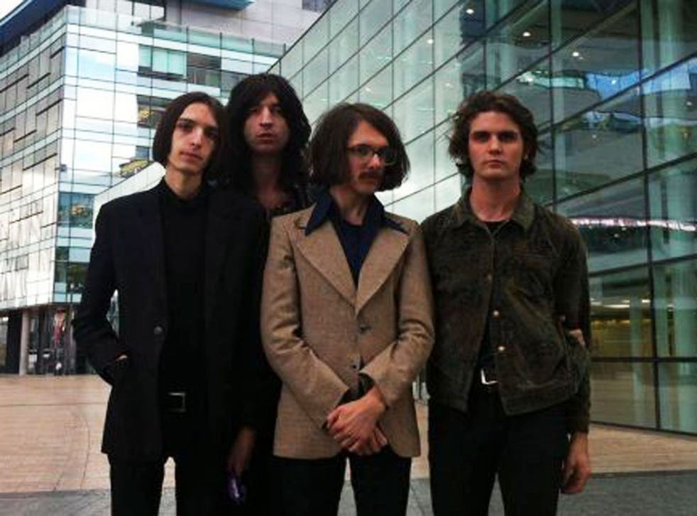 The debut single from new London band Telegram is a great blast of scuzzy, droney rock