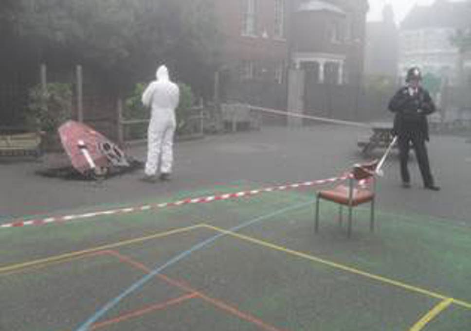 shock and awww ufo crashes into london primary school