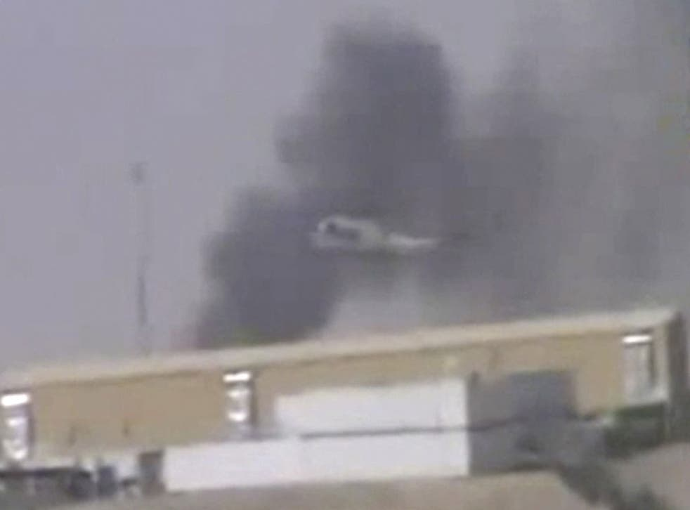 Footage released by the Taliban appears to show the aftermath of the Camp Bastion attack