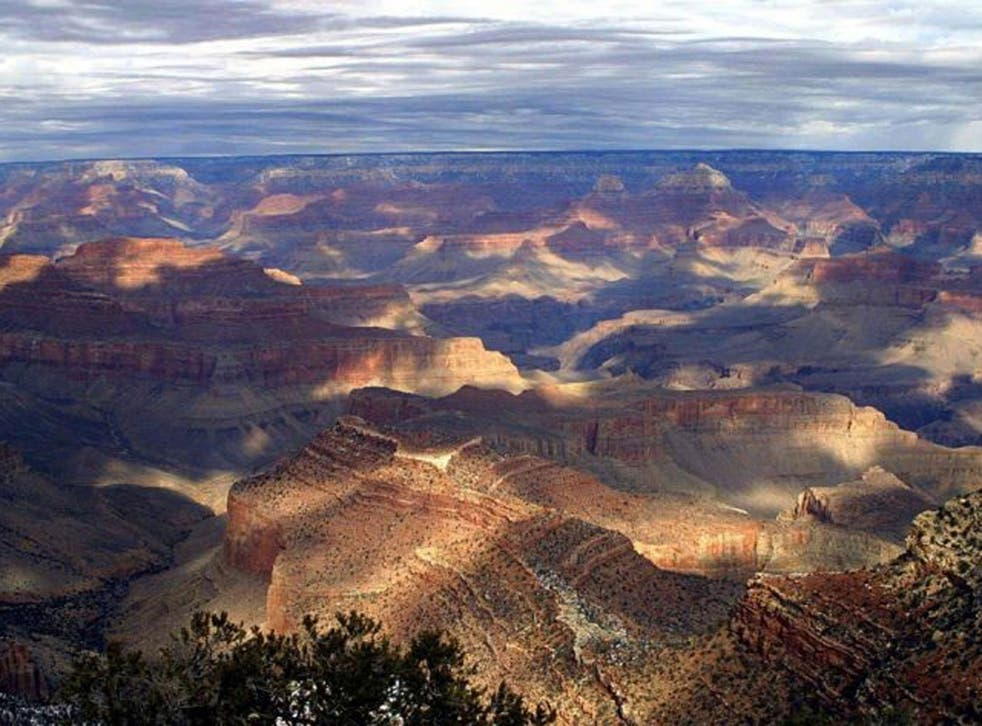 Test subjects were more likely to say they had faith in a higher power after watching 'jaw-dropping' footage of the Grand Canyon