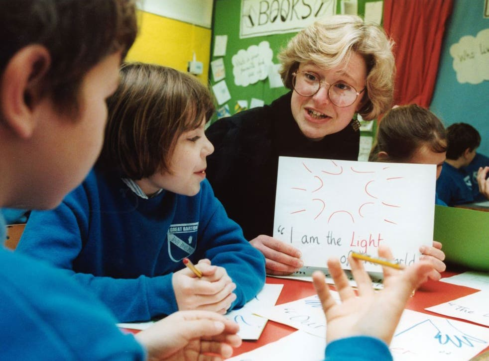 The teaching of Christianity is 'inadequate' in one in three primary schools, according to the Ofsted report