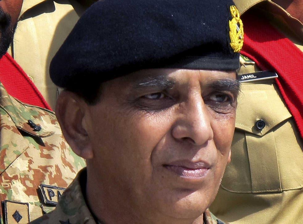 Pakistan army chief, General Ashfaq Parvez Kayani