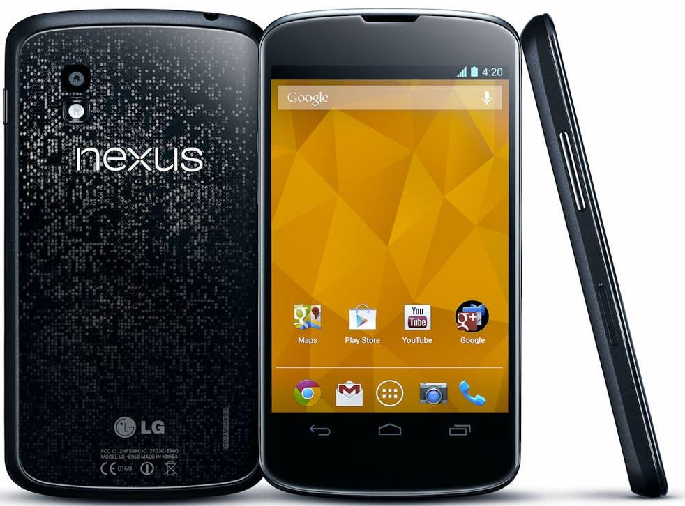 The Nexus 4, released in 2012