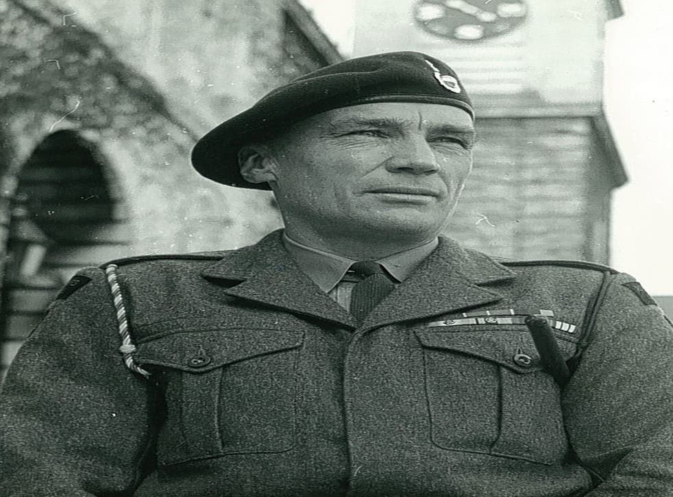 Kay when he was a Lt Col with CO 43 Commando in the 1960s