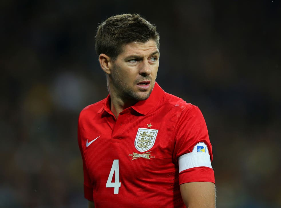 Steven Gerrard wants England to beat Montenegro and Poland to secure their qualification for the 2014 World Cup