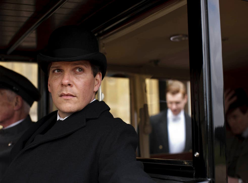 Nigel Harman as visiting valet Mr Green, who attacked and raped Anna Bates in Downton Abbey