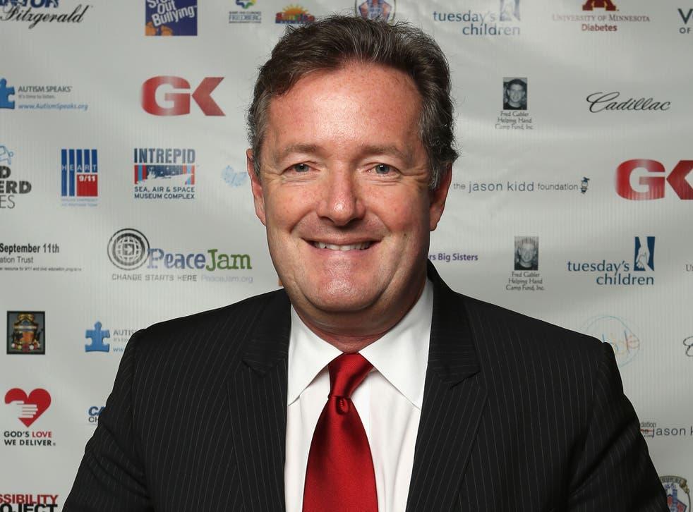 #8 - Piers Morgan, 3.6m followers.