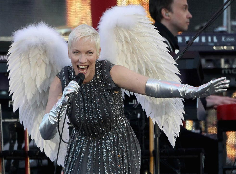Annie Lennox has called for music video ratings