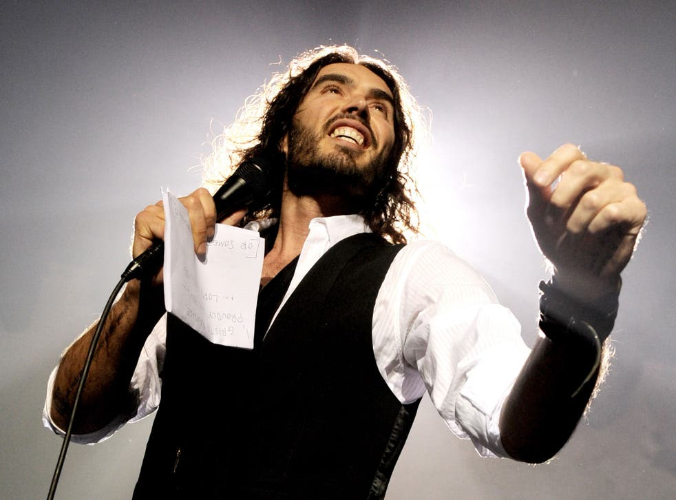 Russell Brand is on his Messiah Complex tour