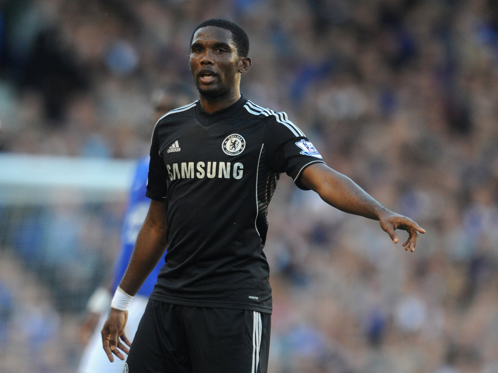 Samuel Eto o admits he must adapt to the Premier League after slow