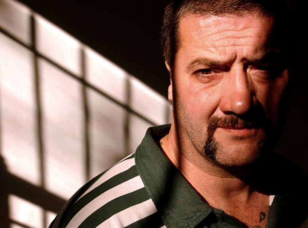 """Mark """"Chopper"""" Read (pictured here on launch of one of his books in 2002) has died after a long battle with liver cancer, his manager said. He was 58"""