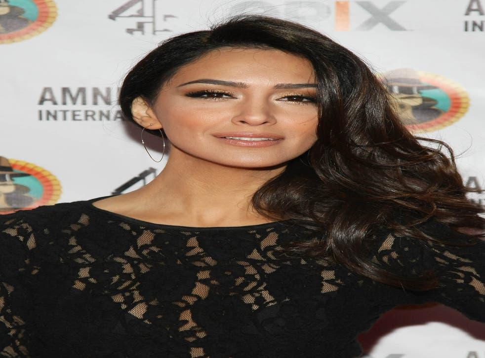 Homeland's Nazanin Boniati, who plays CIA agent Fara Sherazi