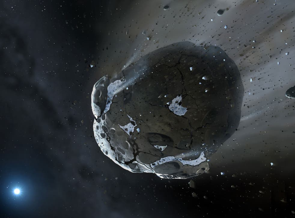 Asteroid Icarus (not pictured) will come within 21 lunar distances of the Earth