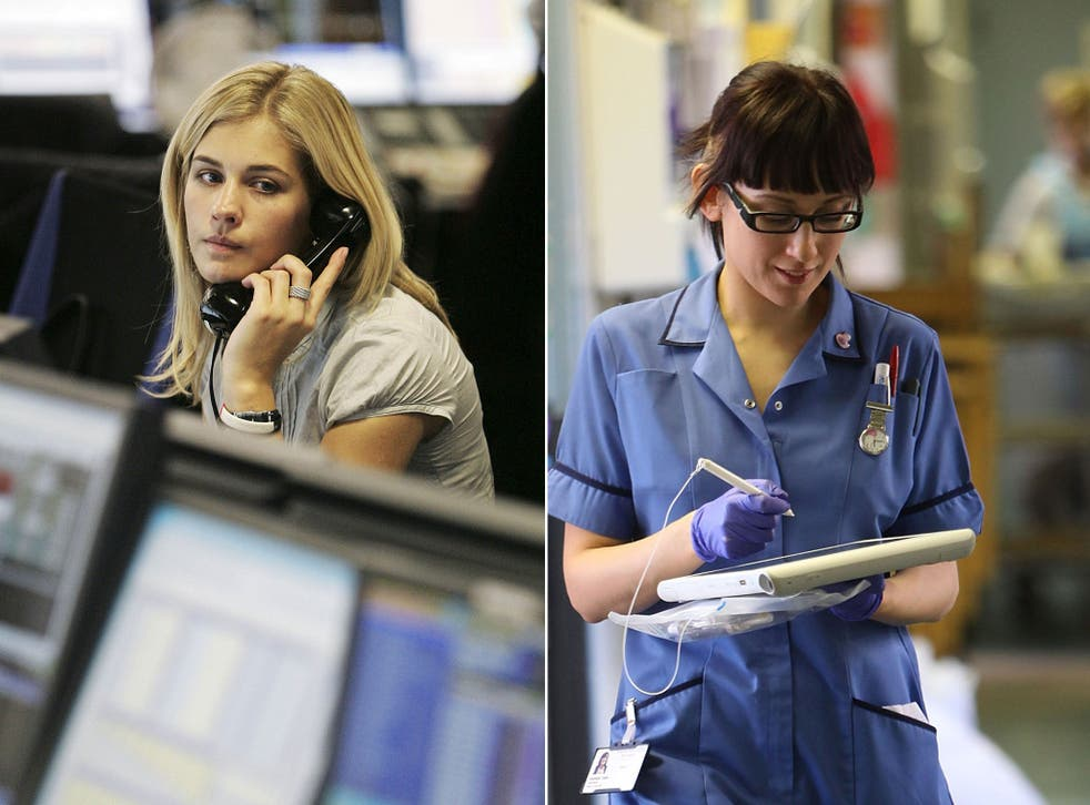 Public sector workers in some parts of Britain are earning up to £3,200 a year more than their private sector neighbours