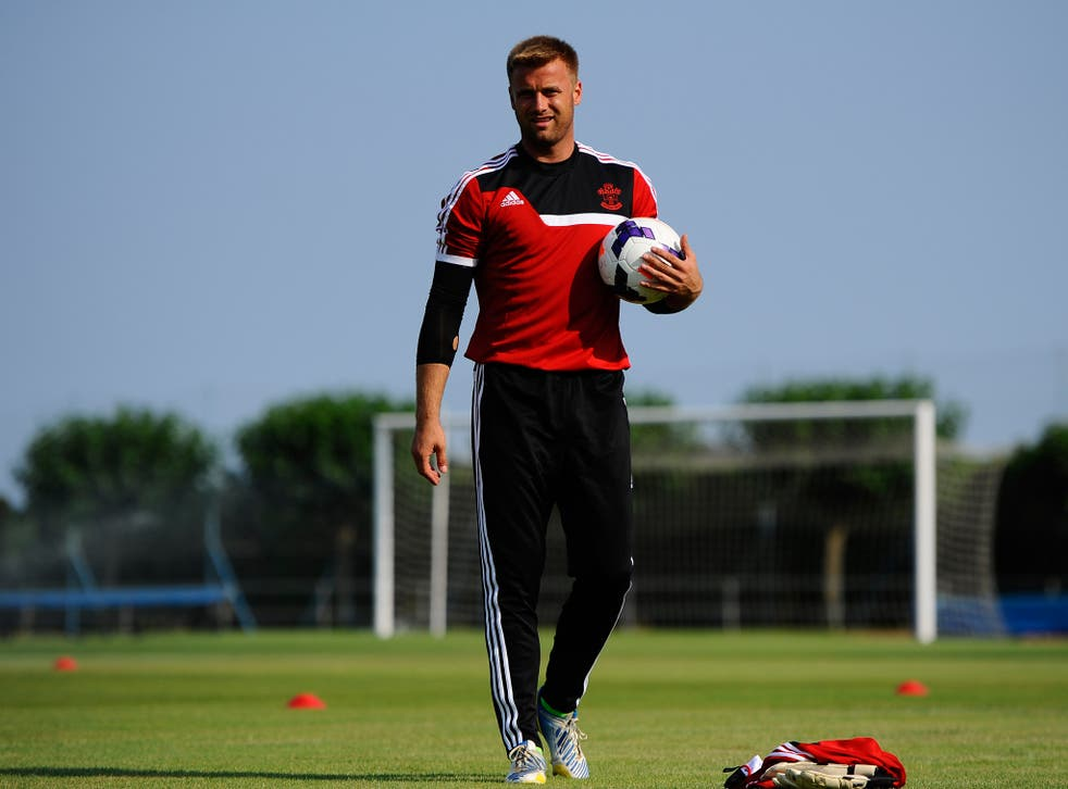 Southampton goalkeeper Artur Boruc will be looking to upset England when he lines up for Poland on Tuesday