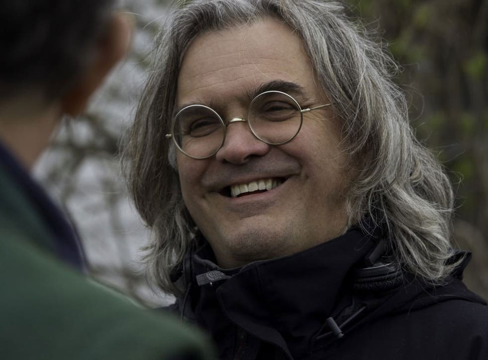 Director Paul Greengrass on the set of Columbia Pictures' Captain Phillips, starring Tom Hanks
