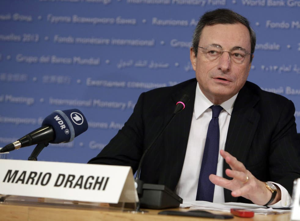 The borrowing costs of Italy and Spain have fallen significantly since the European Central Bank president Mario Draghi stepped in to reassure markets that they would not be left holding worthless pieces of paper