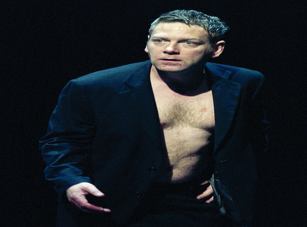 Sir Kenneth Branagh in 'Edmond' by David Mamet. He has been approached by the National Theatre to become its next artistic director