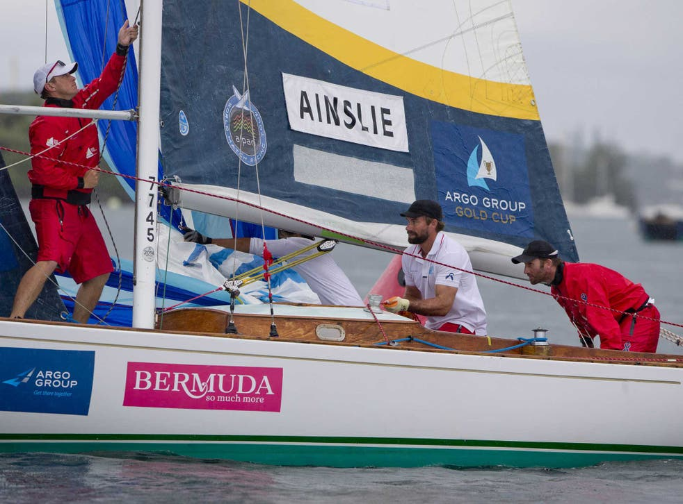Ben AInslie (far right) and tactician Iain Percy, racing as Team BART, were pipped 2-3 in the final of the Argo Group Gold Cup grand prix as part of the Alpari World Match Racing Tour in Bermuda
