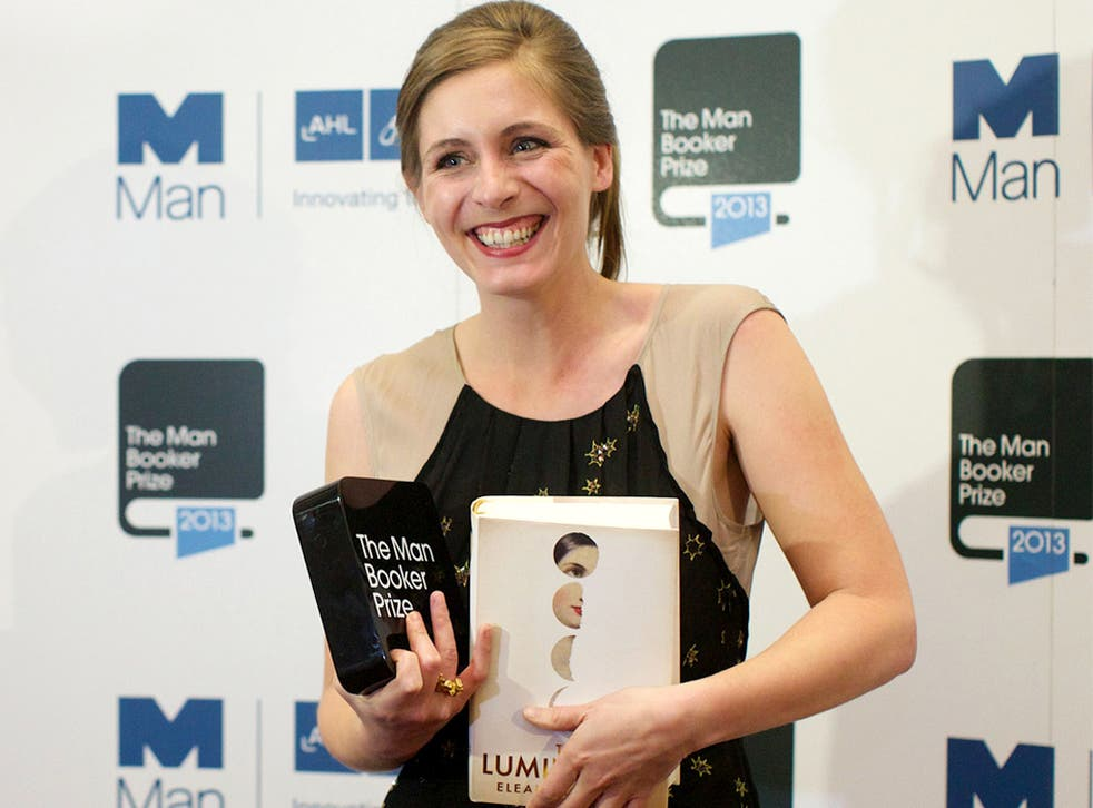 New Zealand author Eleanor Catton poses for photographs after winning the 2013 Man Booker Prize