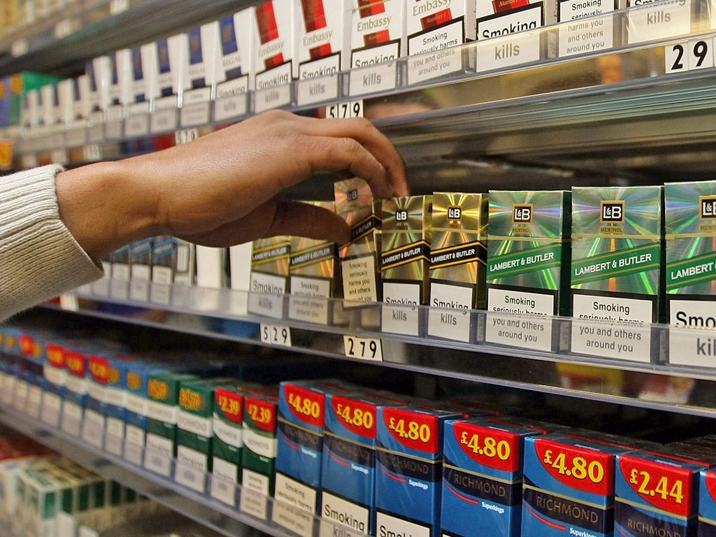 the tobacco industry Data and statistical information on how the tobacco industry markets their products.