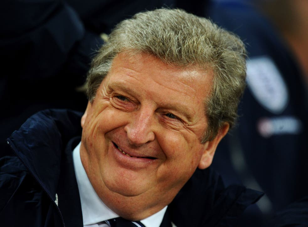 Roy Hodgson was all smiles after England qualified for the 2014 World Cup with a 2-0 win over Poland