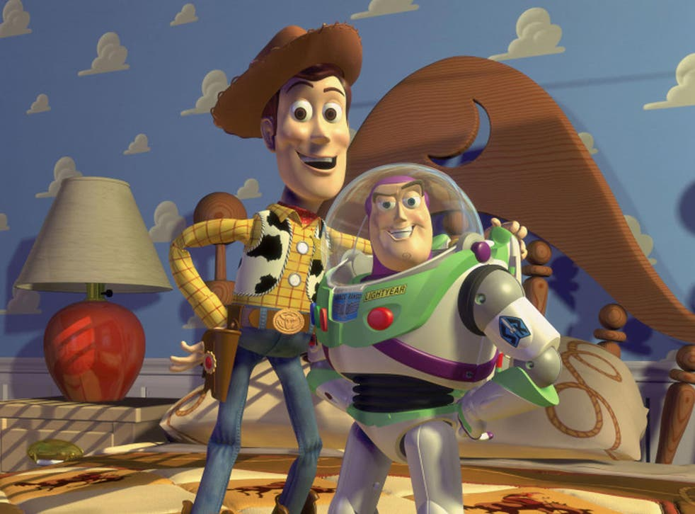 A still from Disney's first CGI film Toy Story in 1995