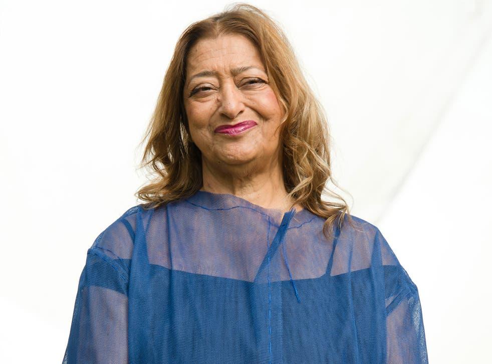 Iraqi-British architect Zaha Hadid (Getty)