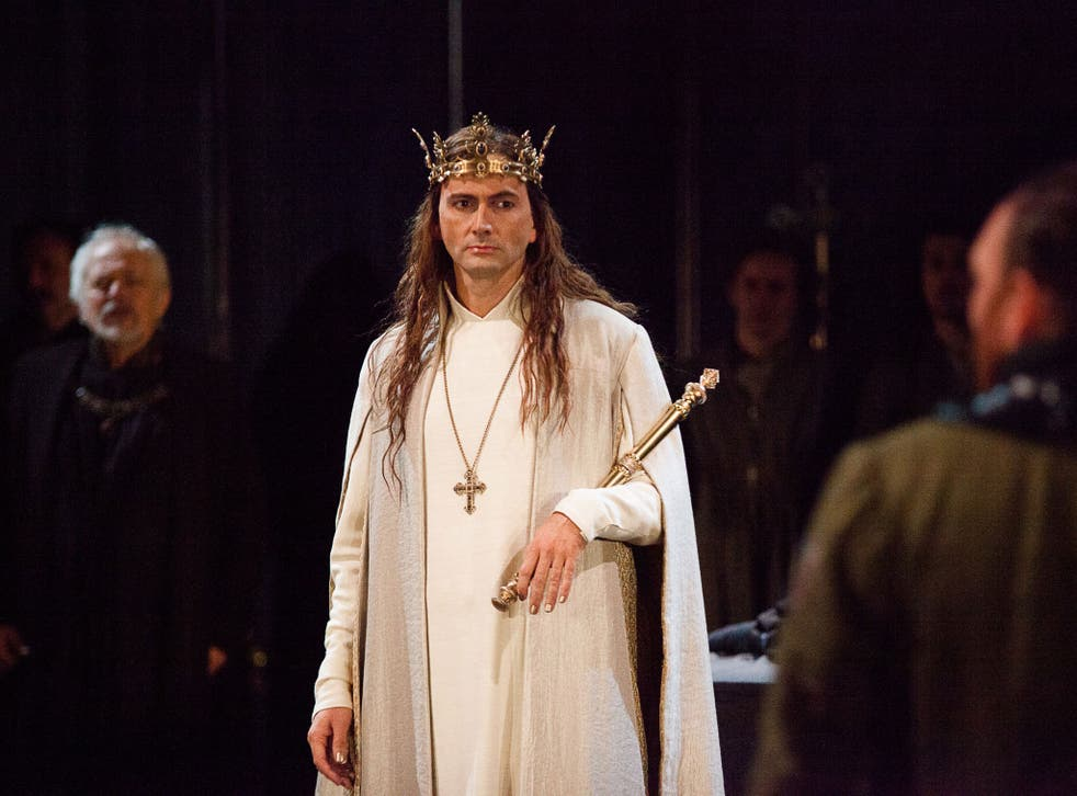 David Tennant and Gregory Doran join forces again for this lucid and gripping account of Richard II