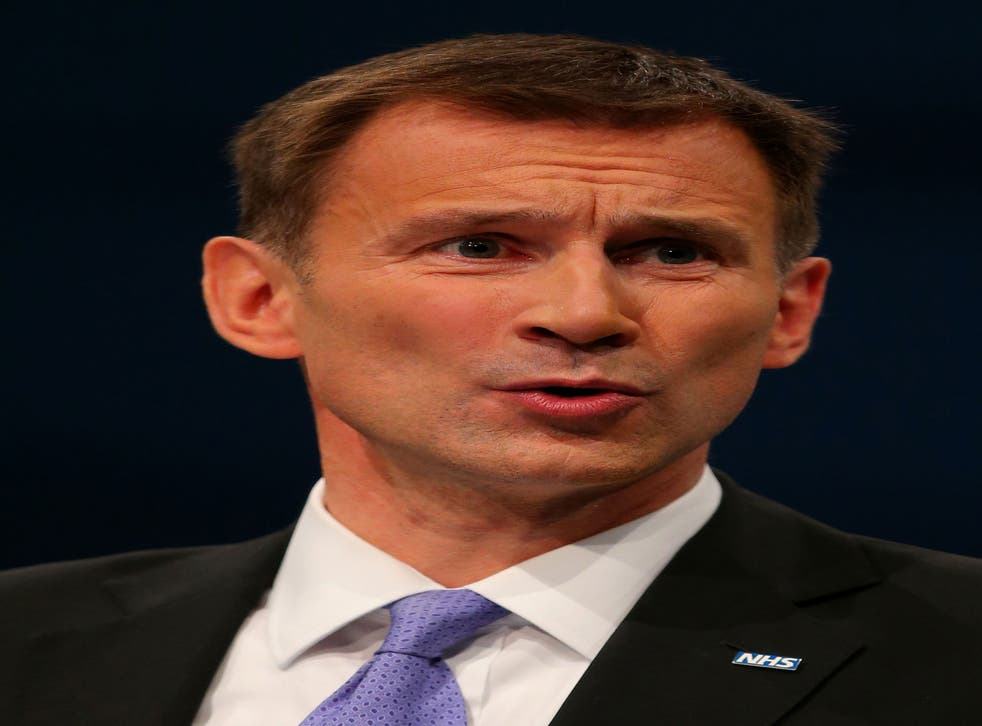 Hunt's speech warns that too many old people are unnecessarily placed into care