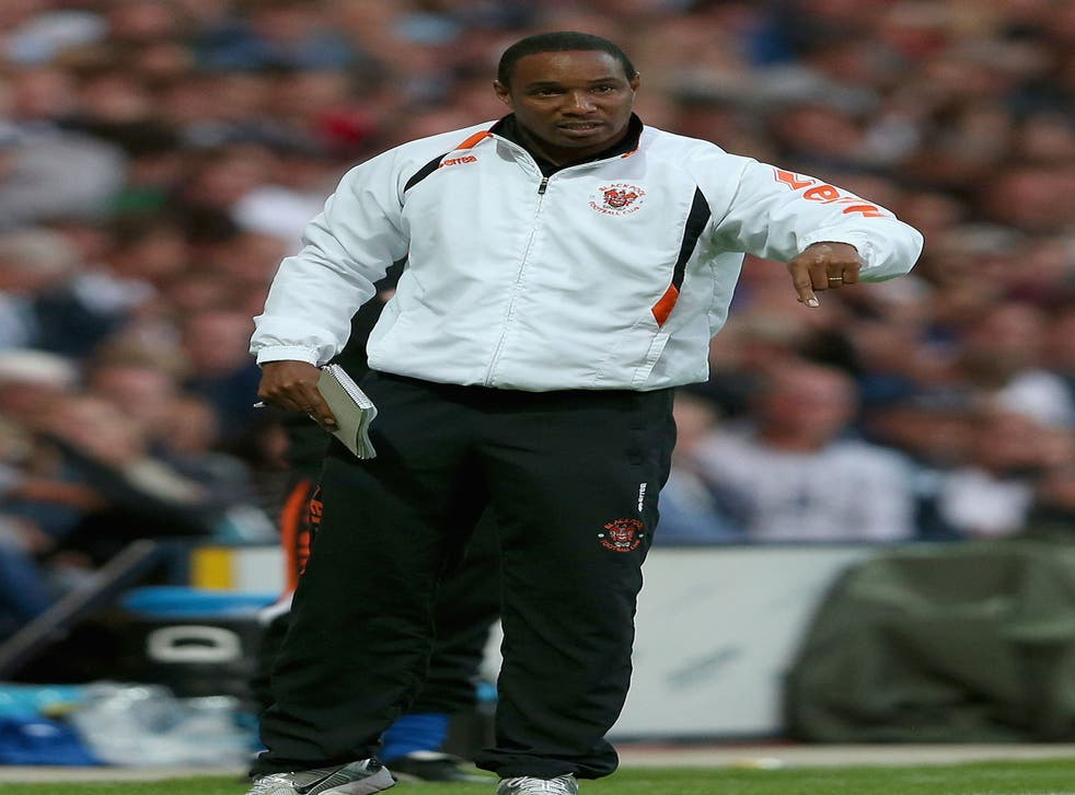Paul Ince has been handed a five-match stadium ban