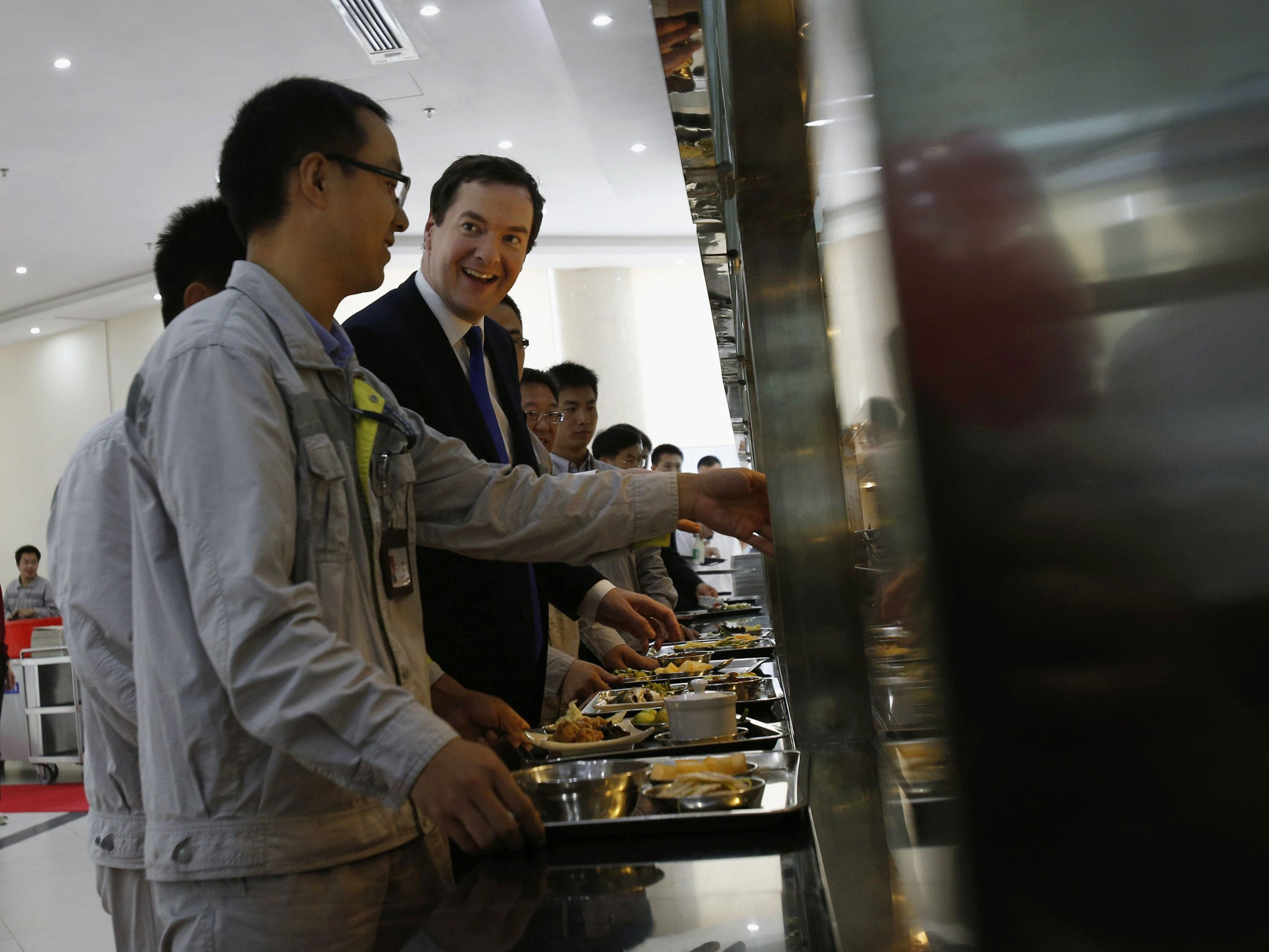 George Osborne: 'Second-rate Britain' needs to be more like China