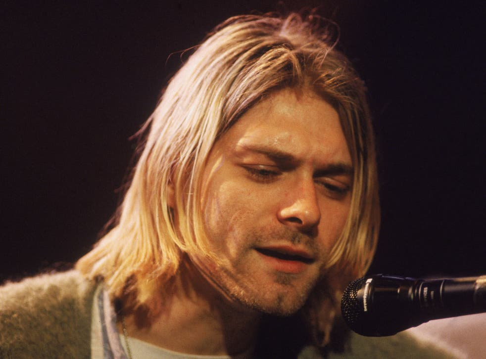 Kurt Cobain, seen here performing for an MTV Unplugged special in 1993, thought he was gay as a teenager, a newly unearthed interview has revealed