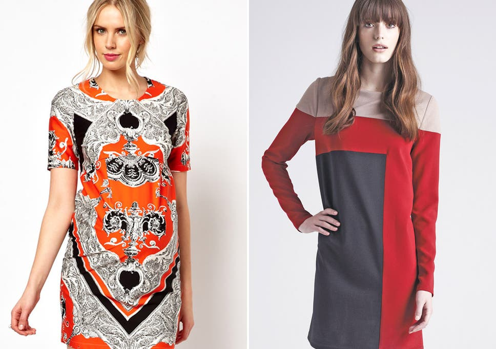 b11aac7028 Models wear outfits from Asos (left) and Debenhams