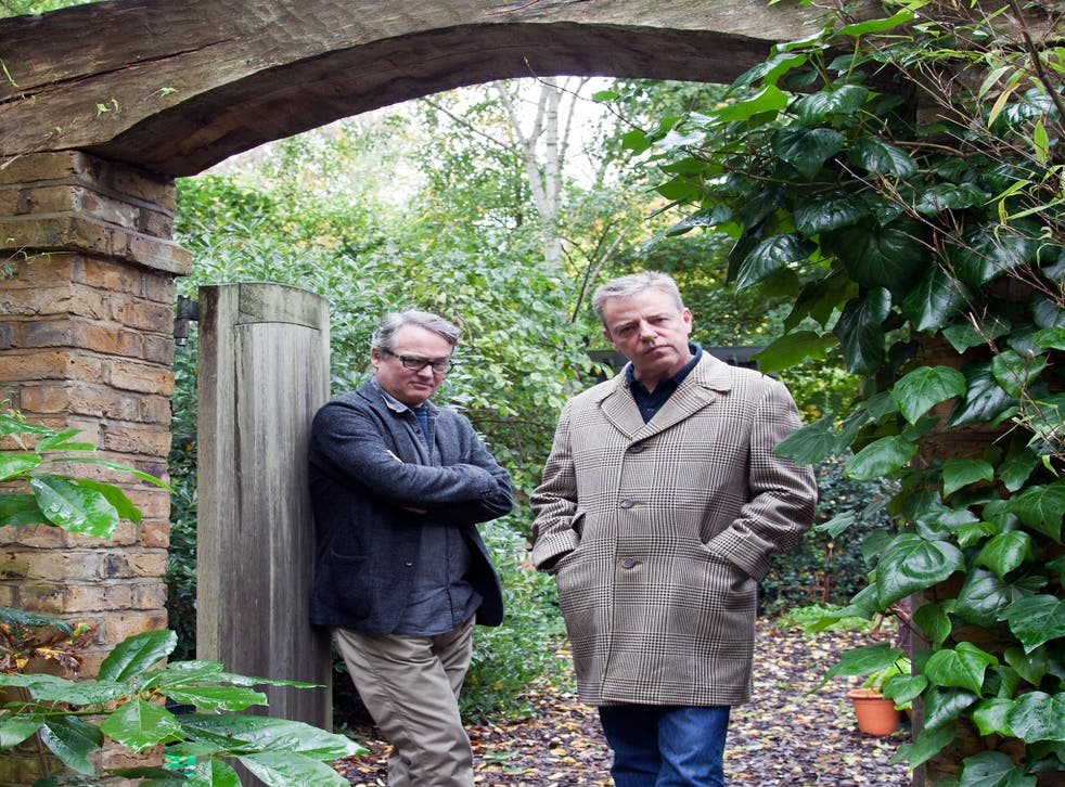 Suggs (right) says: 'Charlie's quite shy in real life. He's much more circumspect than I am – and introverted. But when I get him going, he's fun-loving and I think he enjoys being warmed up'