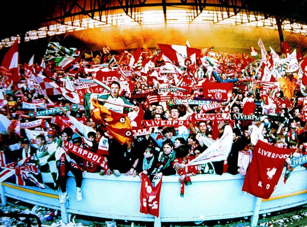 The old Kop in full cry